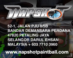 Napshot Paintball